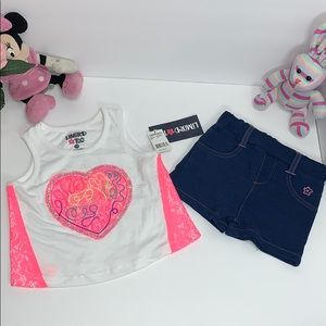 Beautiful 2PC set for baby girl 👧🏻
